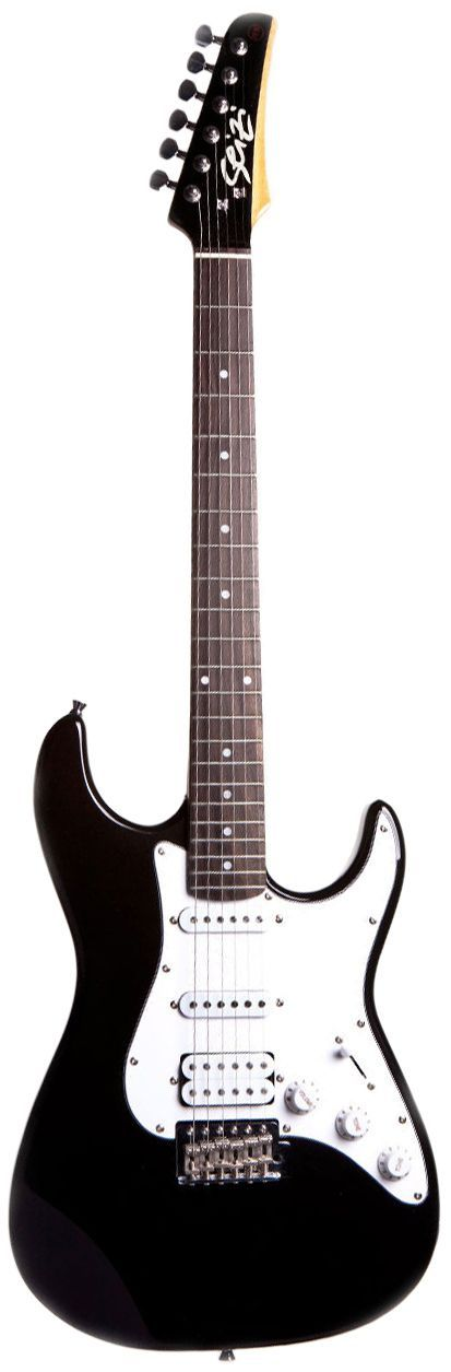 Guitarra Seizi Stone Metallic Black com Capa