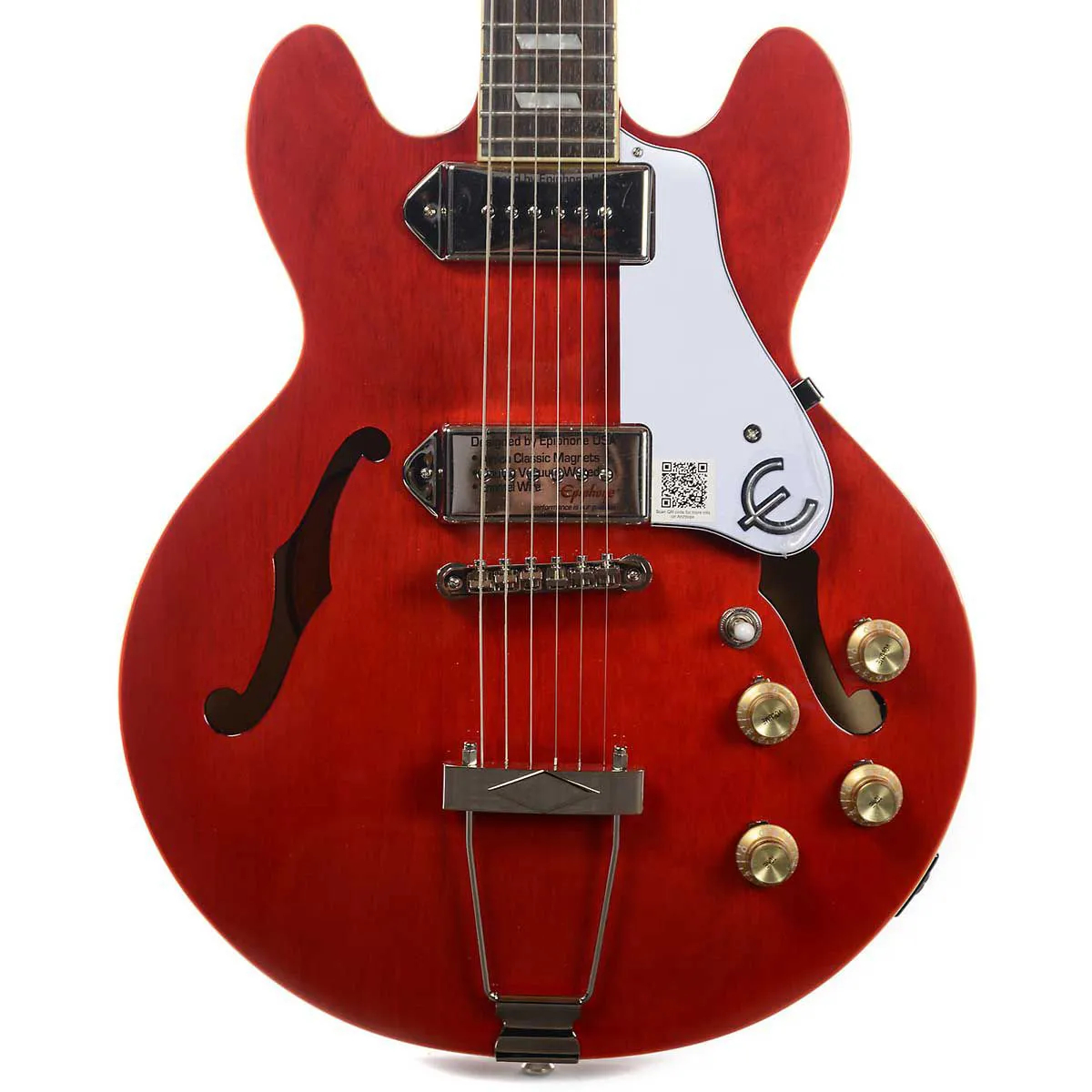 Guitarra Semi-Acústica Epiphone Casino Coupe Cherry