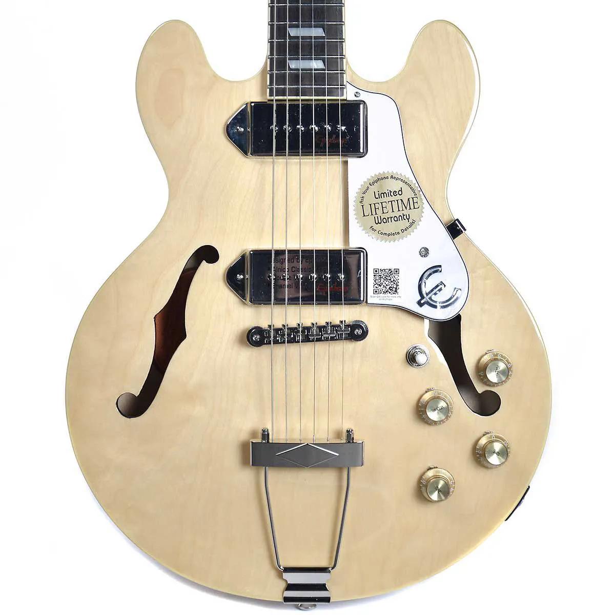 Guitarra Semi-Acústica Epiphone Casino Coupe Natural