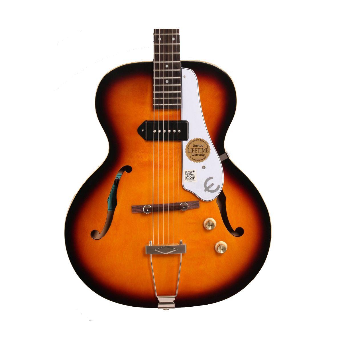 Guitarra Semi-Acústica Epiphone Century 1966 Aged Gloss