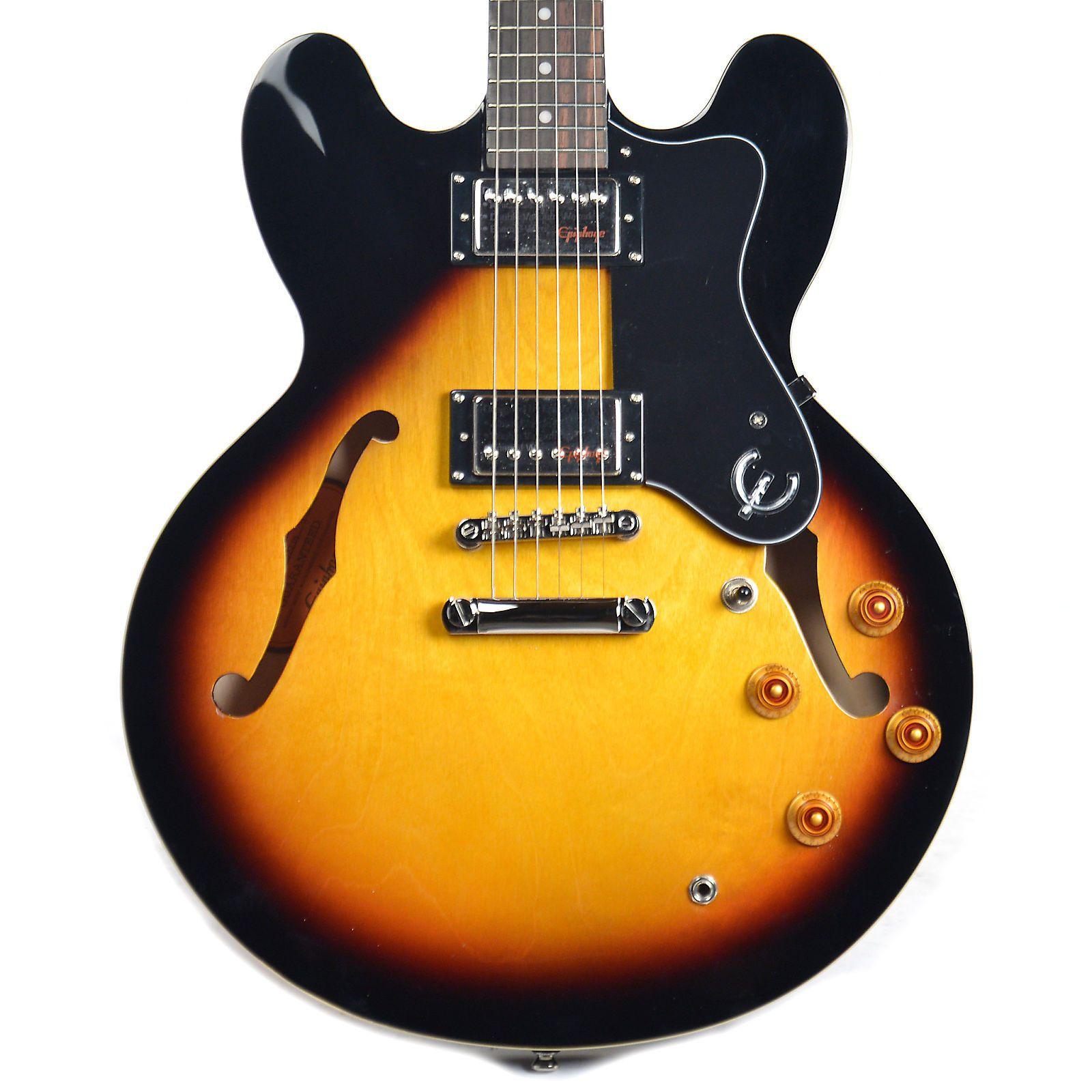 Guitarra Semi-Acústica Epiphone ES 335 Dot Vintage Sunburst