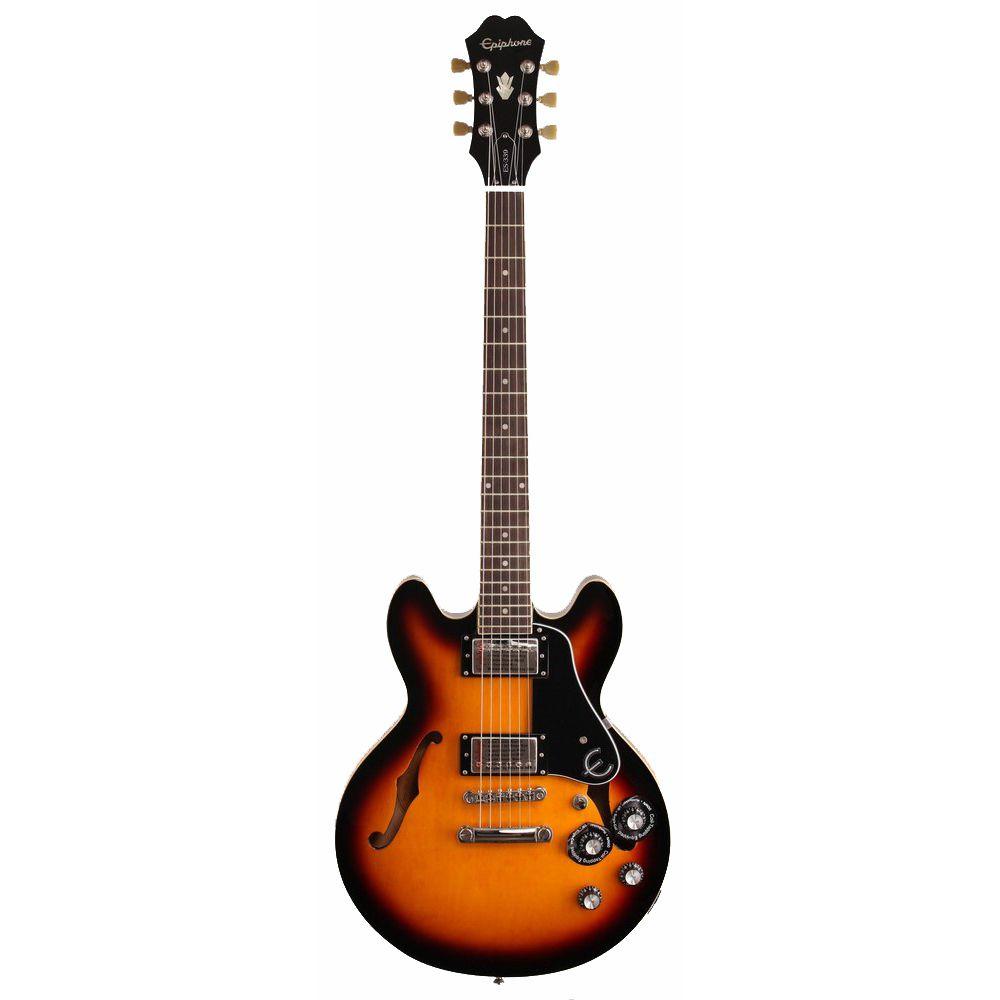 Guitarra Semi-Acústica Epiphone ES 339 Pro Vintage Sunburst