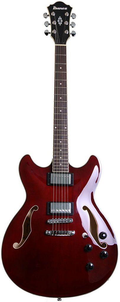Guitarra Semi-Acústica Ibanez AS73 Transparent Cherry