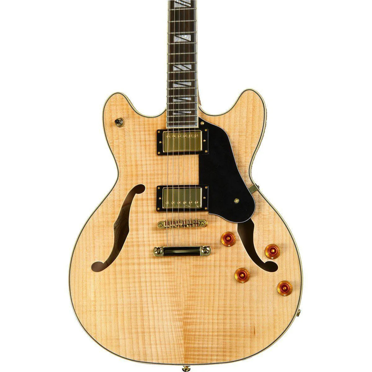 Guitarra Semi-Acústica Washburn HB35 Natural