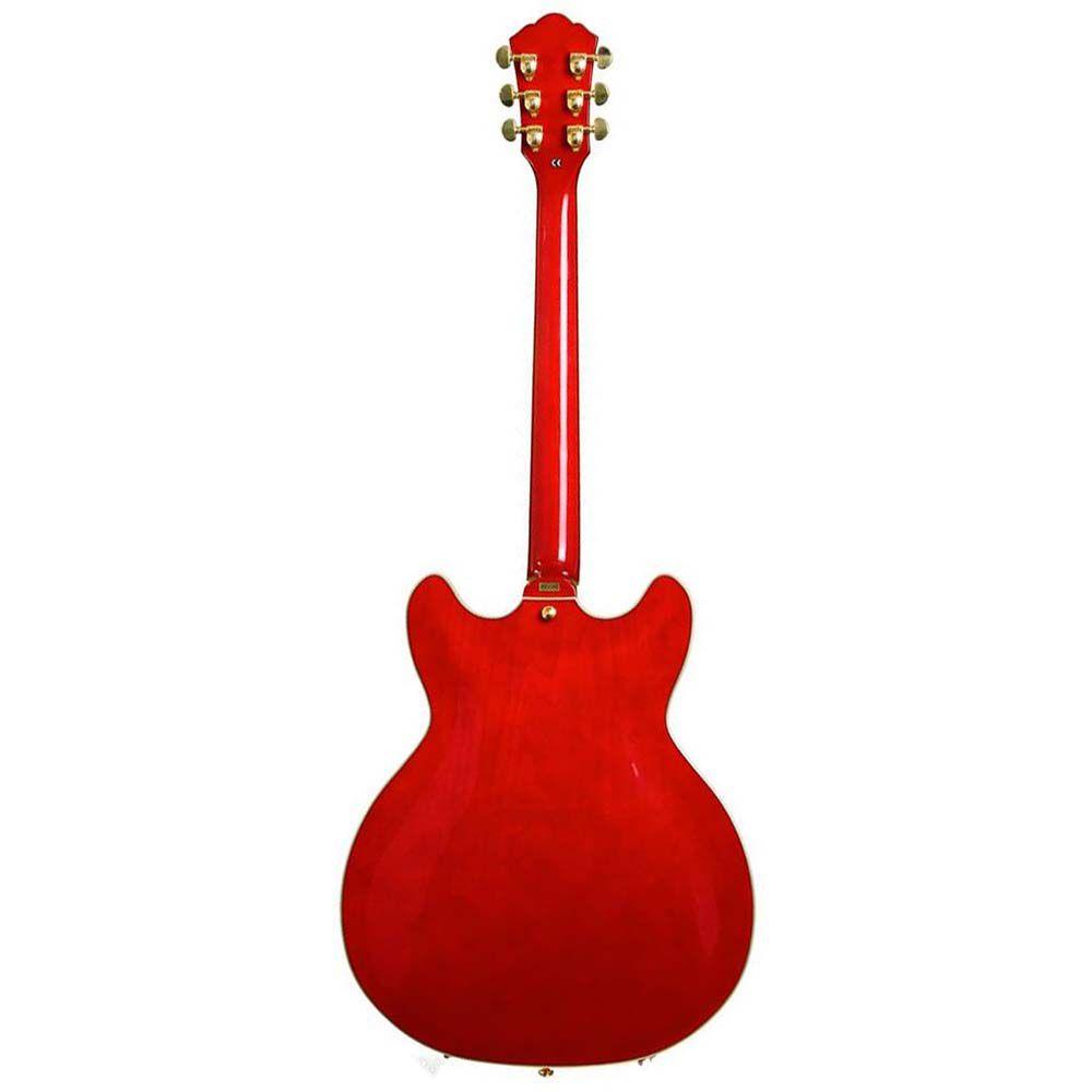 Guitarra Semi-Acústica Washburn HB35 Wine Red