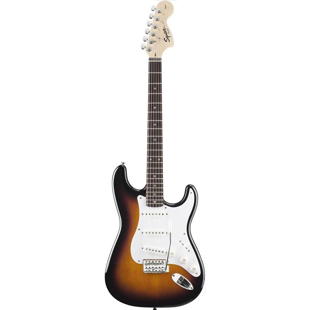 Guitarra Stratocaster Fender Squier Affinity Brown Sunburst