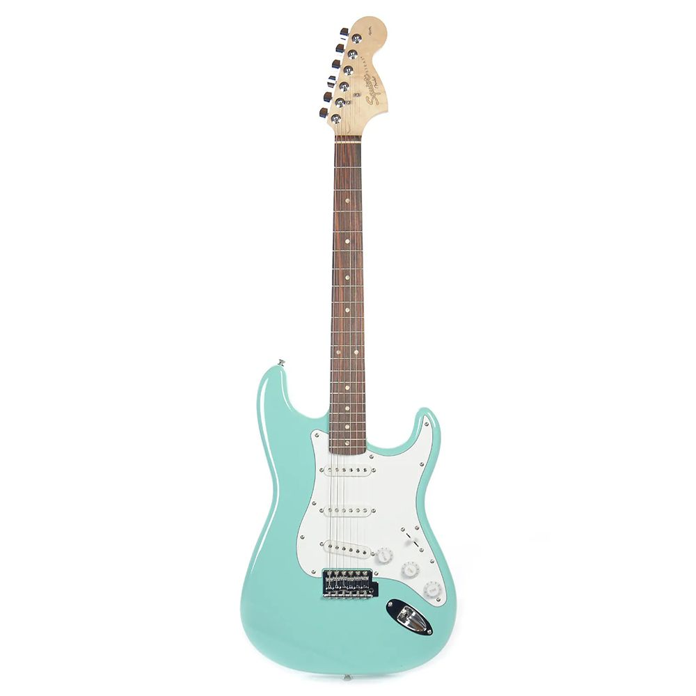 Guitarra Stratocaster Fender Squier Affinity Surf Green