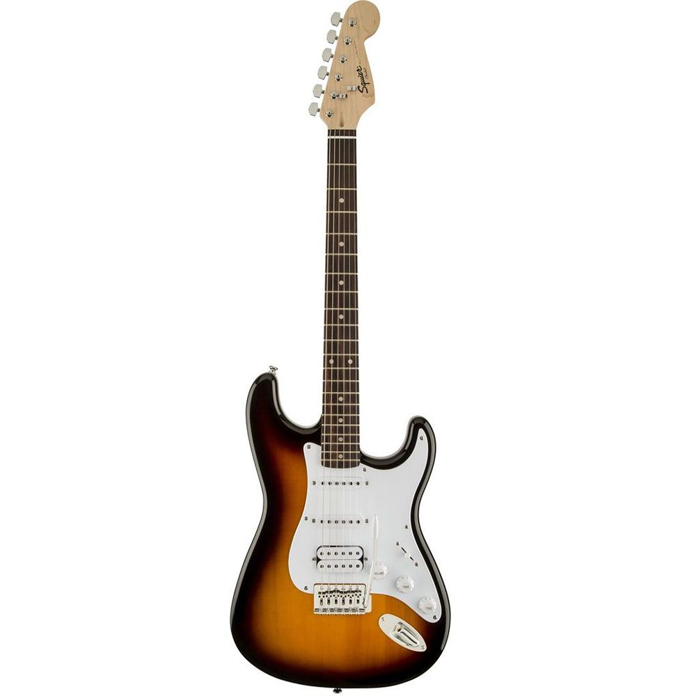 Guitarra Stratocaster Squier Bullet Strat HSS Brown Sunburst
