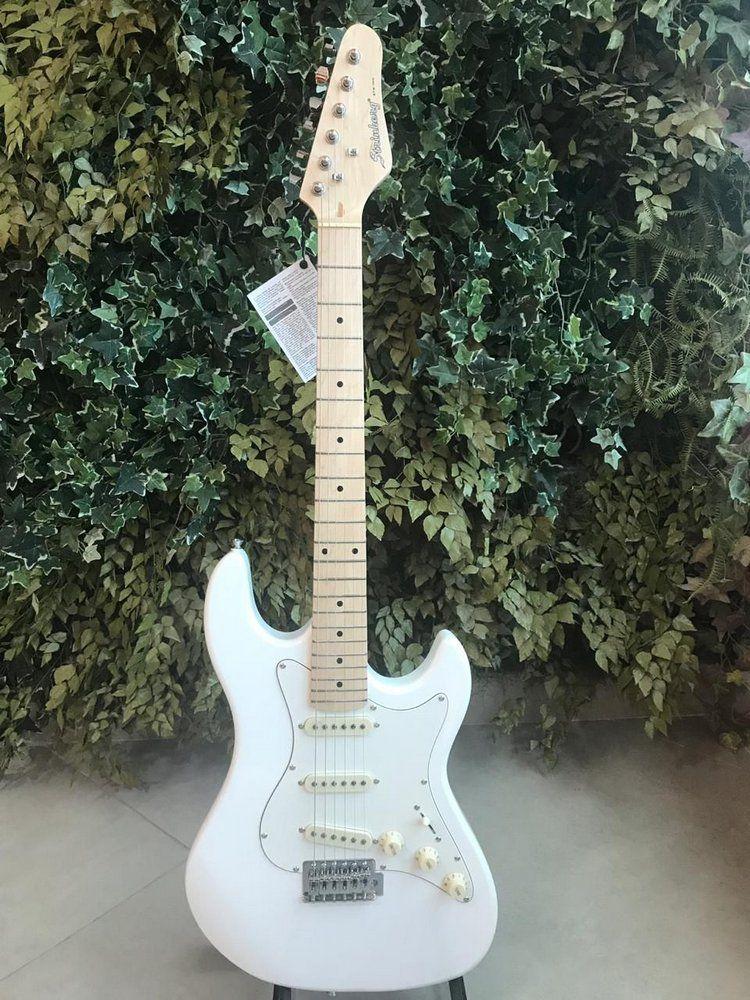 Guitarra Stratocaster Strinberg STS-100 White