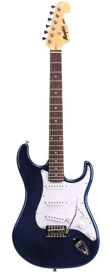 Guitarra Stratocaster Tagima Memphis Mg 32 Metallic Blue