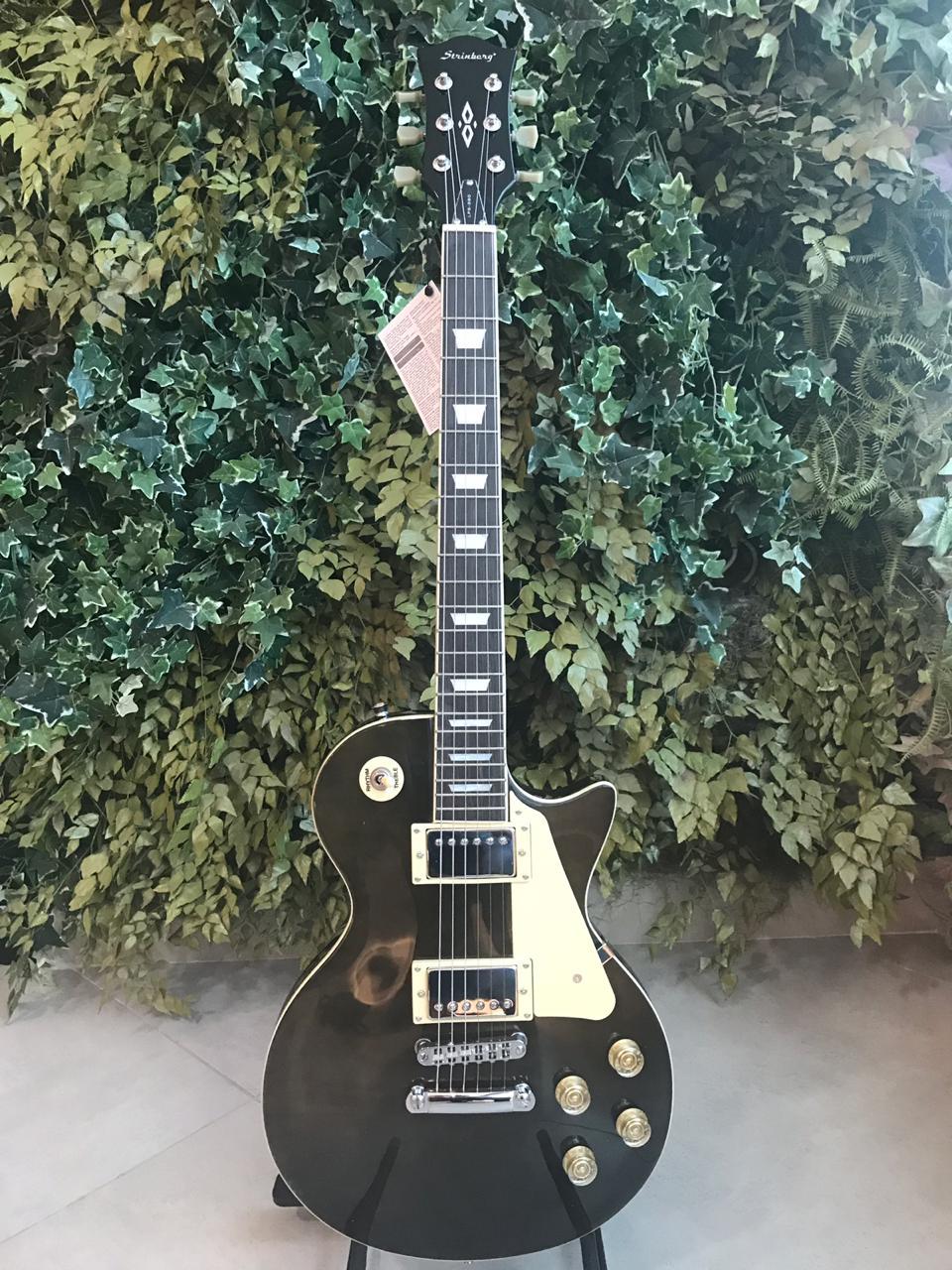 Guitarra Strinberg LPS280 Preto Transparente