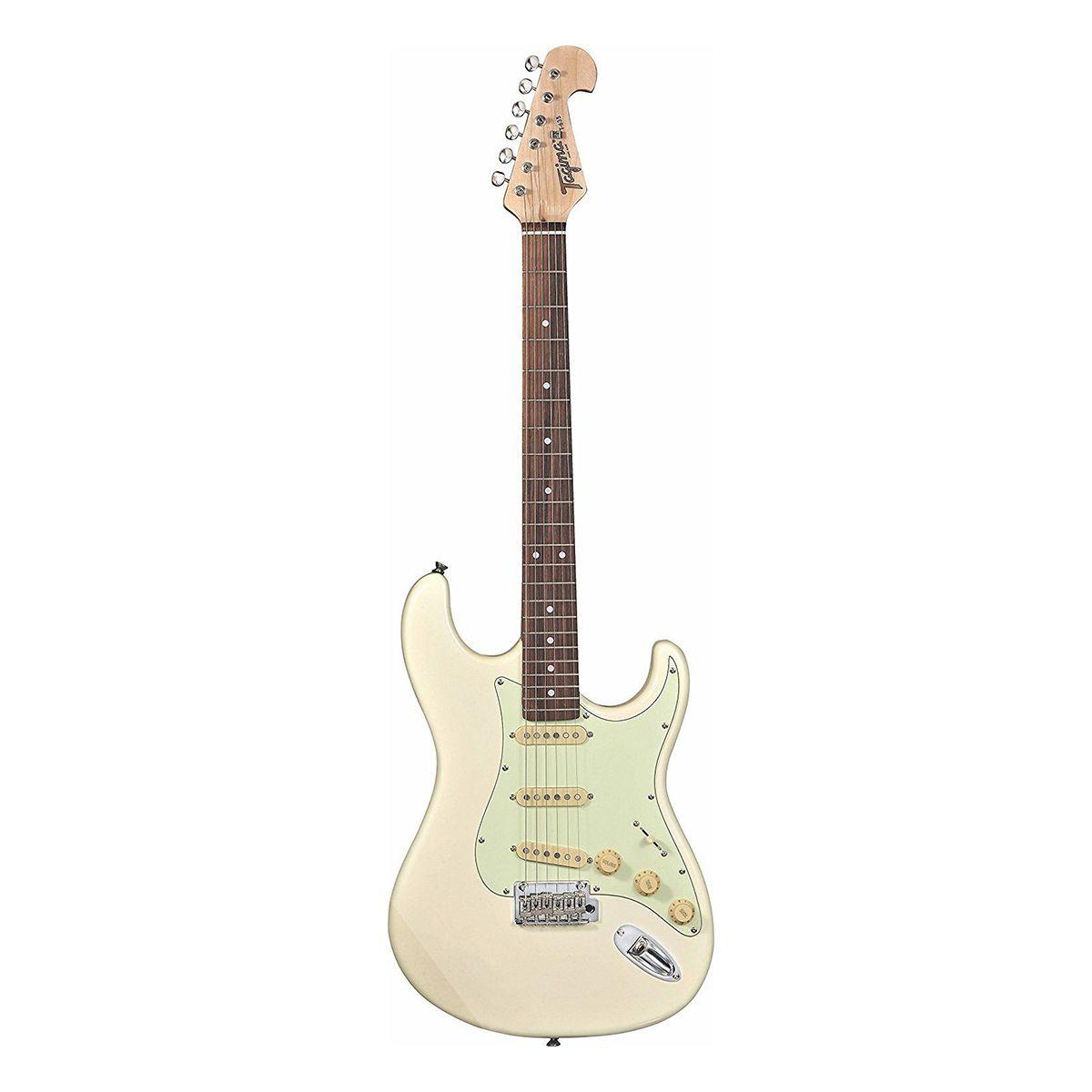 Guitarra Tagima T635 Classic Rosewood White com Mintgreen
