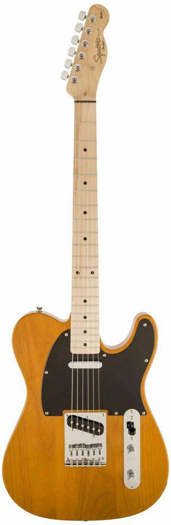 Guitarra Telecaster Fender Squier Affinity MN Butterscotch Blonde
