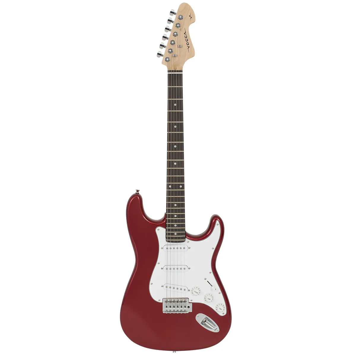 Guitarra Vogga VCG601N Standard Stratocaster Metallic Red