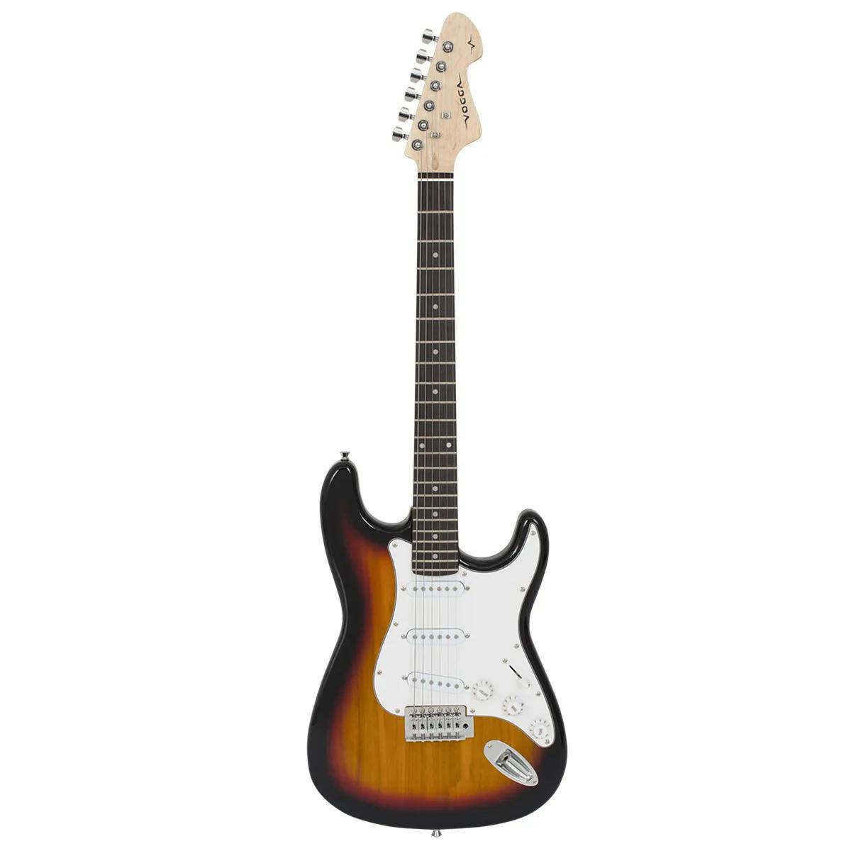 Guitarra Vogga VCG601N Standard Stratocaster Vintage Sunburst