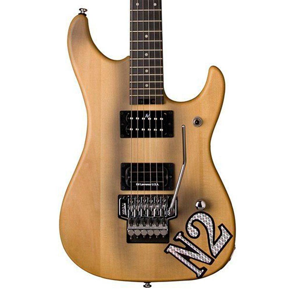 Guitarra Washburn N2 Vintage Nuno Bettencourt Signature Natural com Capa