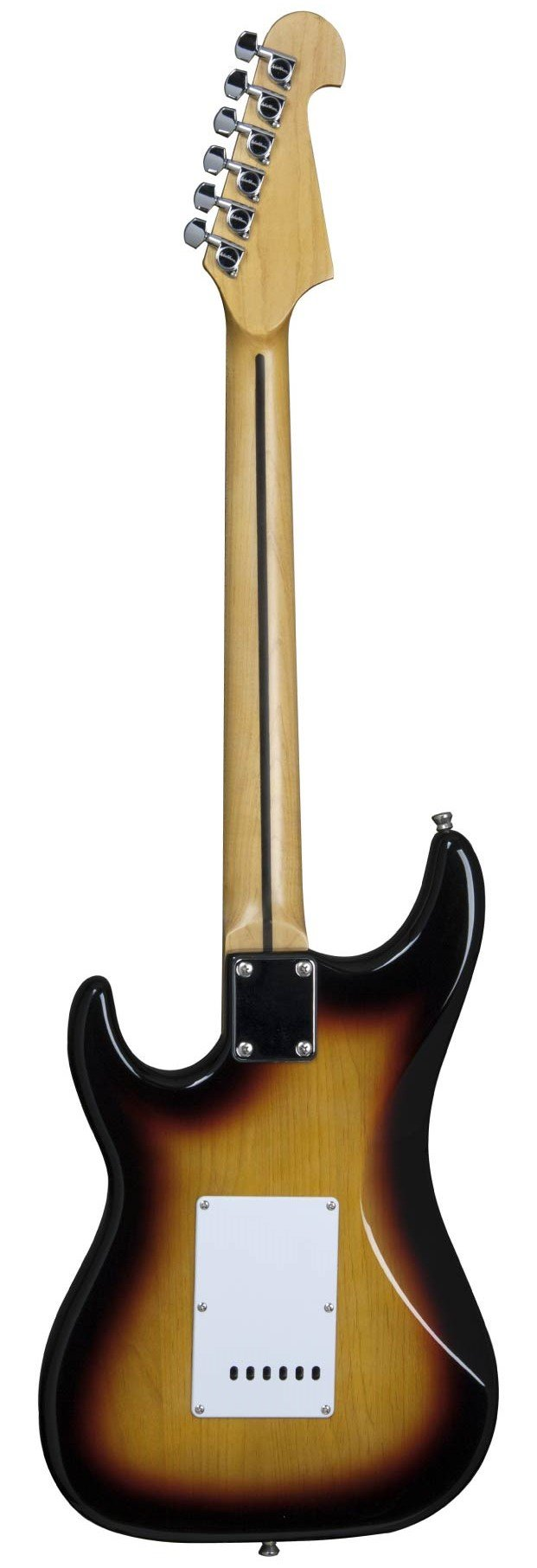 Guitarra Washburn S1TS tobacco, Capta S/S/S headstock inver.