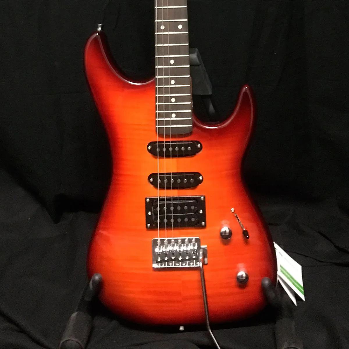 Guitarra Washburn S3HXRS Sonamaster Red Flame Sunburst