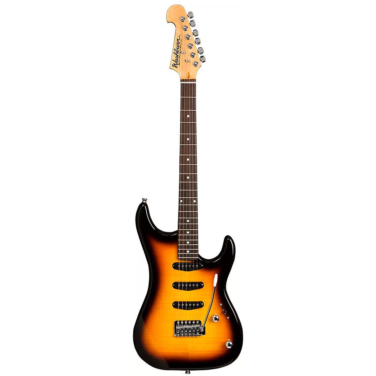 Guitarra Washburn S3XTS Sonamaster Series Tobacco Sunburst