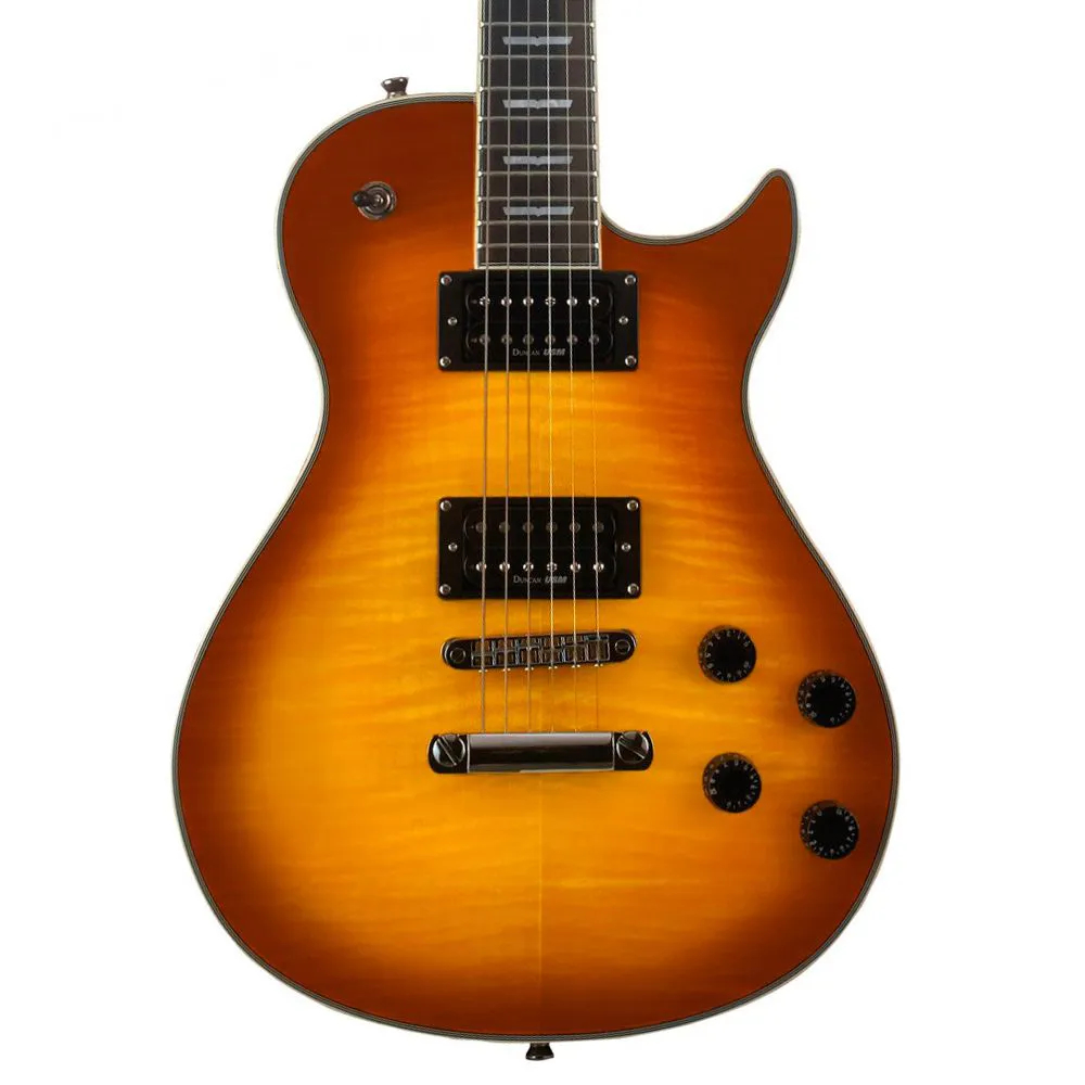 Guitarra Washburn WIN DLX Deluxe Flame Tobacco Sunburst