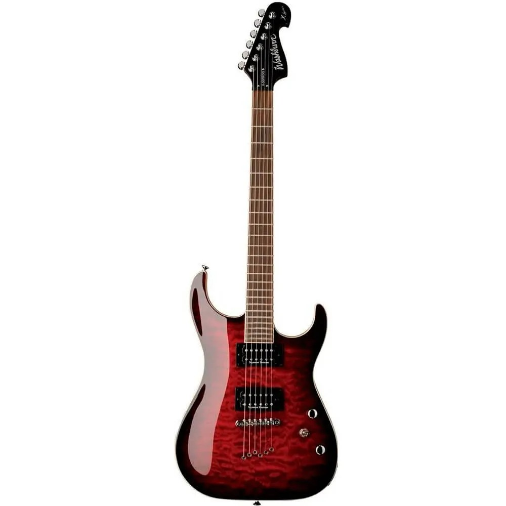 Guitarra Washburn X50 PRO Quilted X Series Wine Red