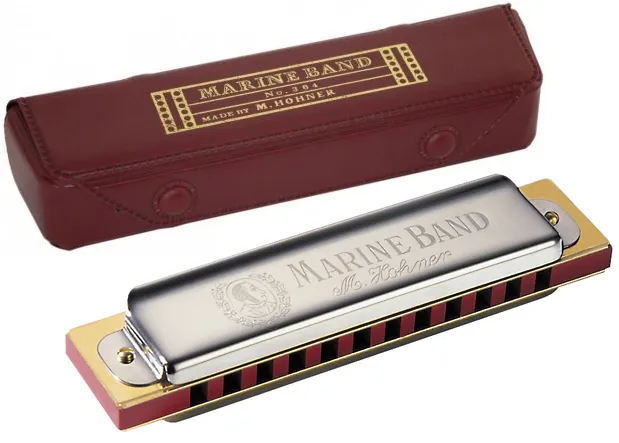 Harmonica Marine Band 364/24 - C (DO)  - HOHNER