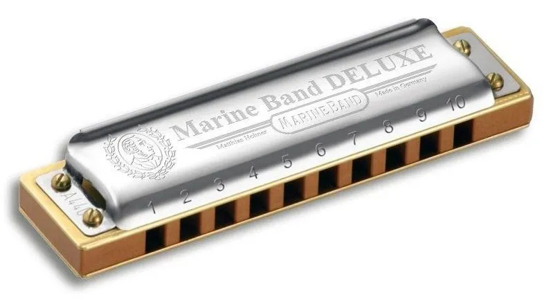 Harmonica Marine Band Deluxe 2005/20 - C (DO) - HOHNER