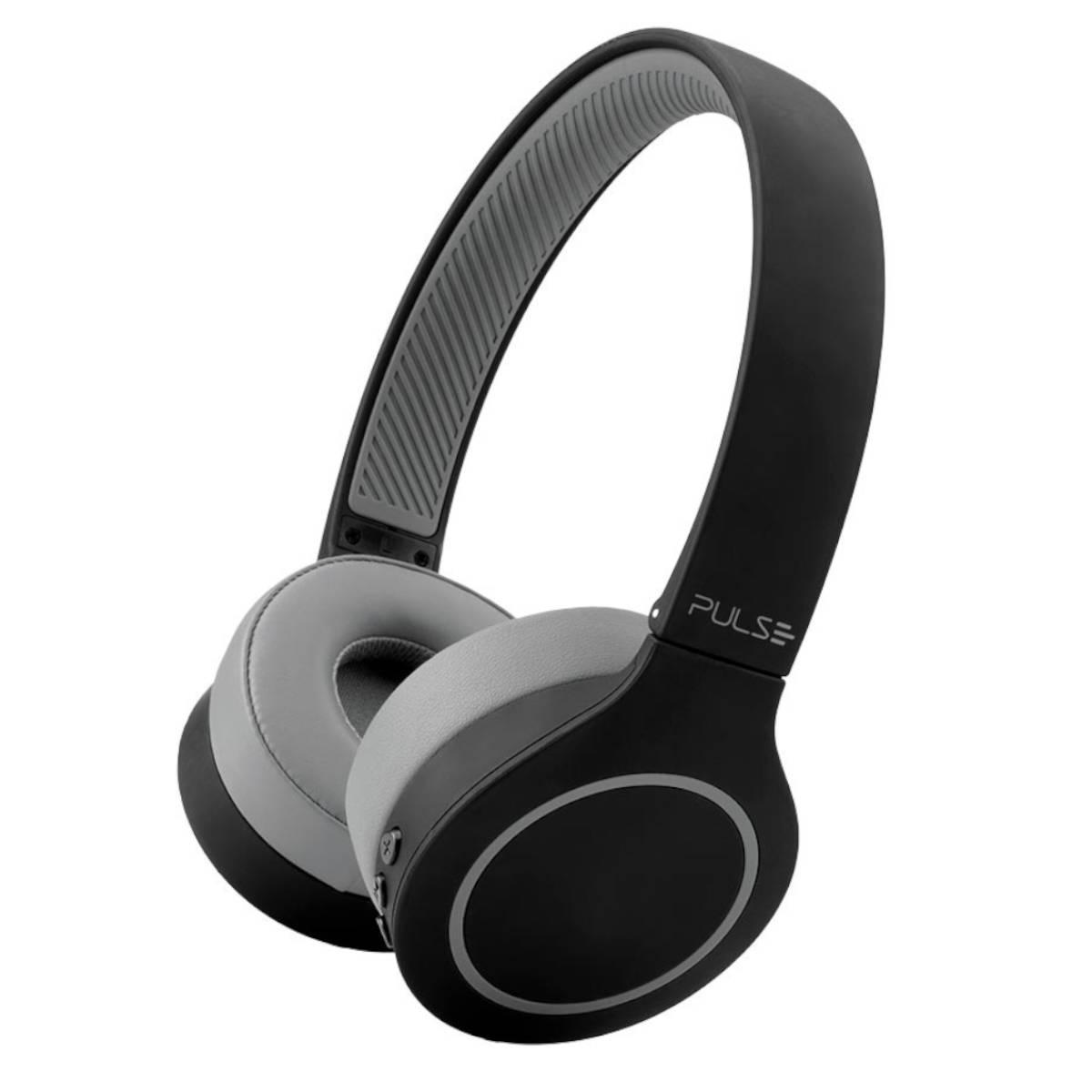 HEADPHONE 5.0 PULSE HEAD BEATS PRETO-CINZA PH339