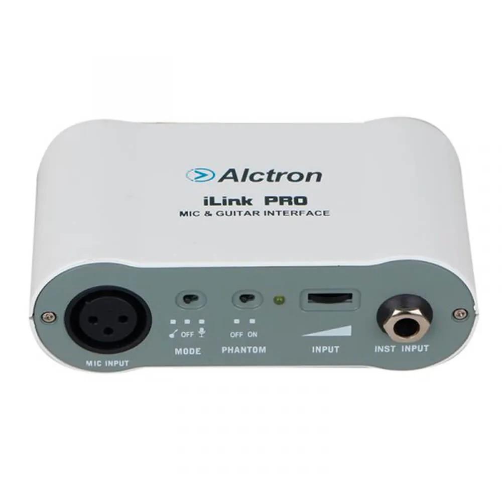 Interface de Áudio Alctron iLink Pro para iOS