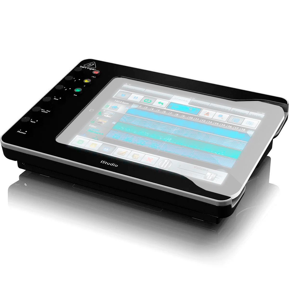 Interface de Áudio Behringer iStudio IS202 IOS / USB / MIDI