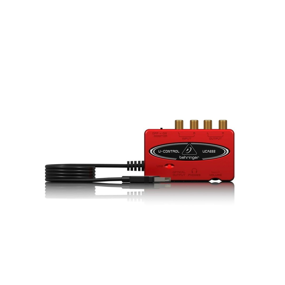 Interface de Áudio Behringer U-Control UCA222 USB