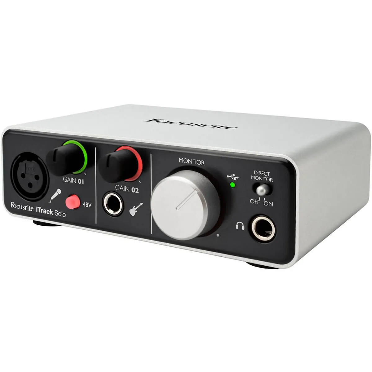 Interface de Áudio Focusrite iTrack Solo Lightning USB