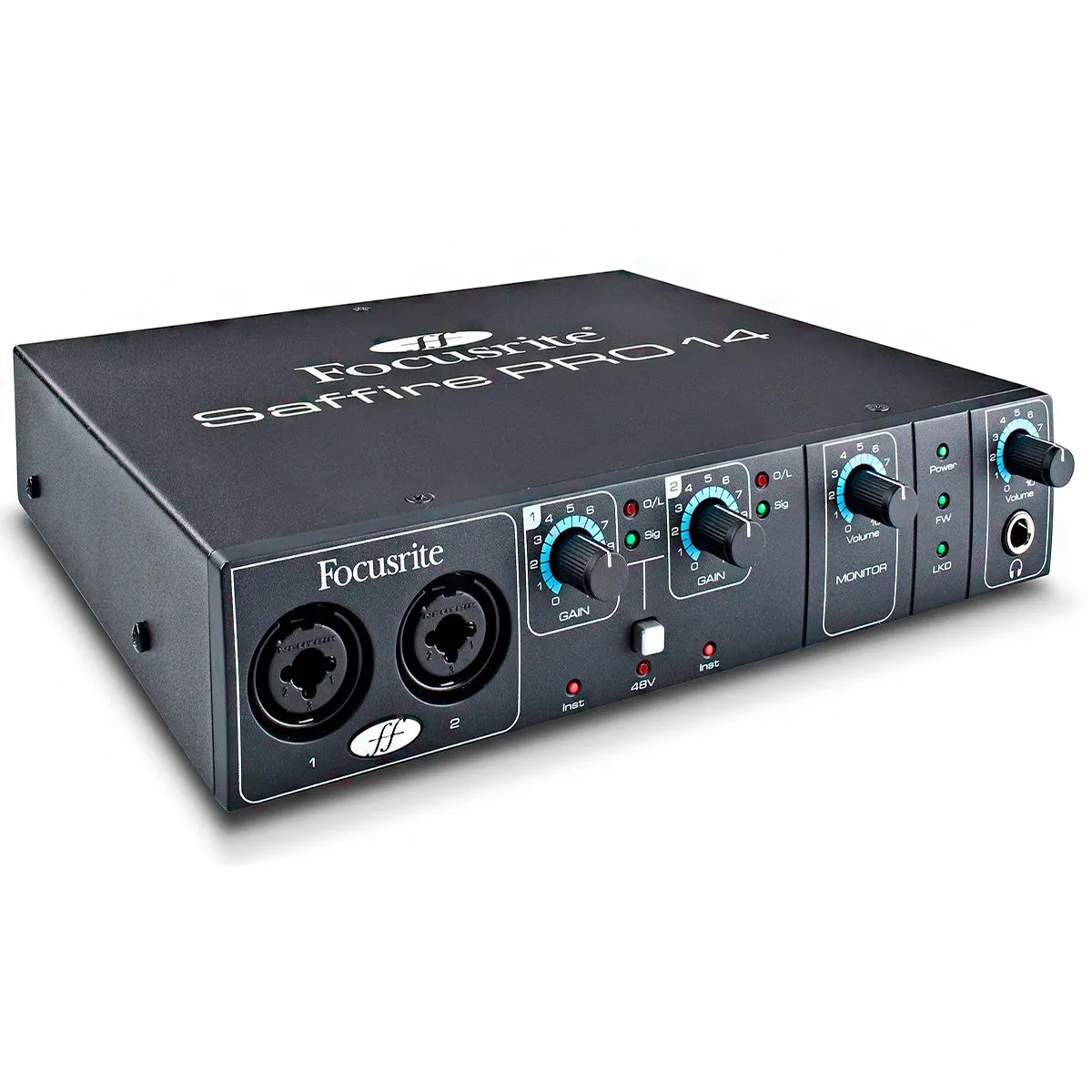 Interface de Áudio Focusrite Saffire Pro 14