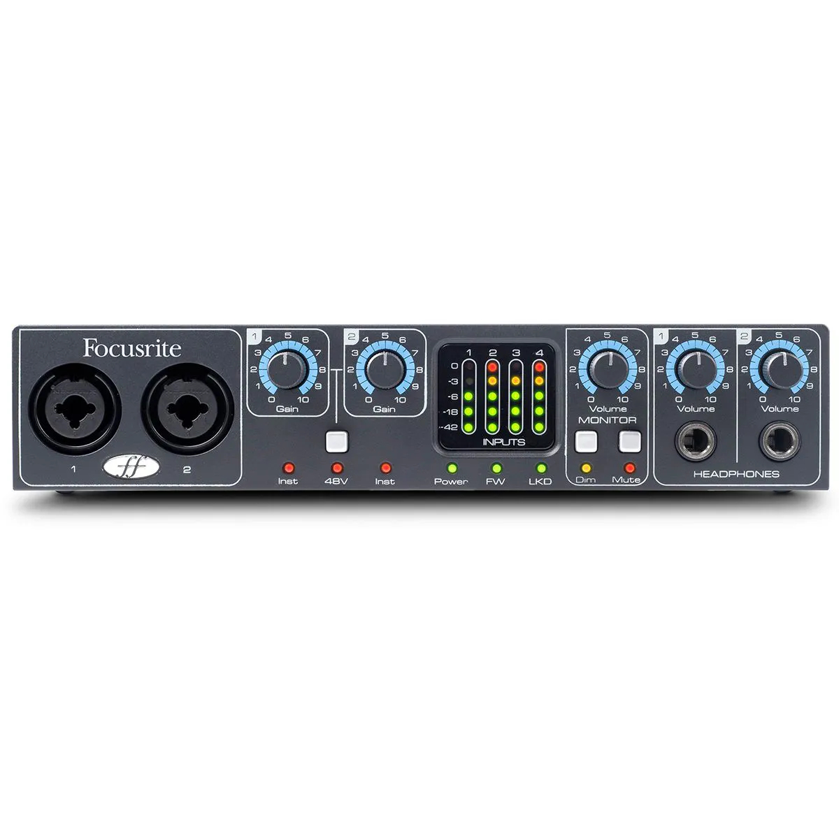 Interface de Áudio Focusrite Saffire Pro 24