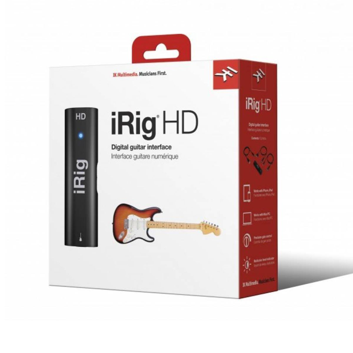 Interface de Áudio IK Multimedia iRig Hd