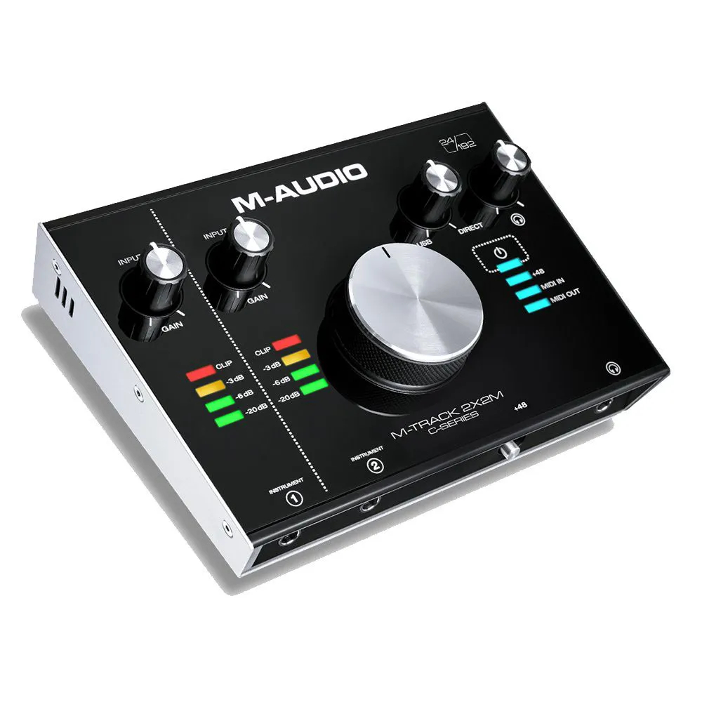 Interface de Áudio M-Audio M-Track 2x2M