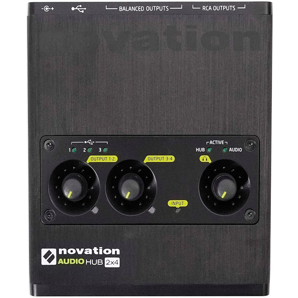 Interface de Áudio Novation Audiohub 2x4