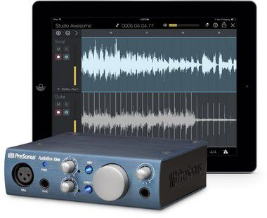 Interface de Áudio PreSonus Audiobox iOne USB