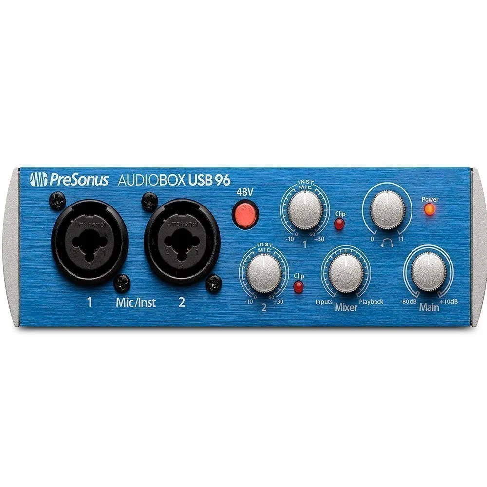 Interface De Áudio Presonus Audiobox USB96