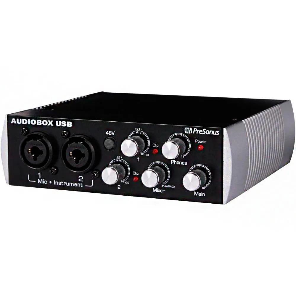 Interface de Áudio PreSonus AudioBox USB Black Limited Edition