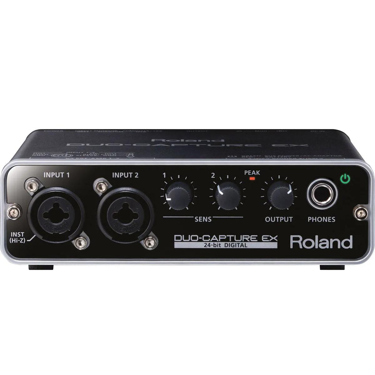 Interface de Audio Roland Ua-22 Duo Capture-Ex