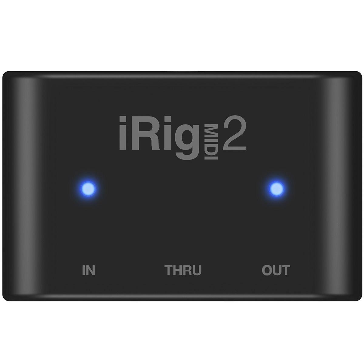 Interface de Áudio Universal IK Multimedia iRig MIDI 2