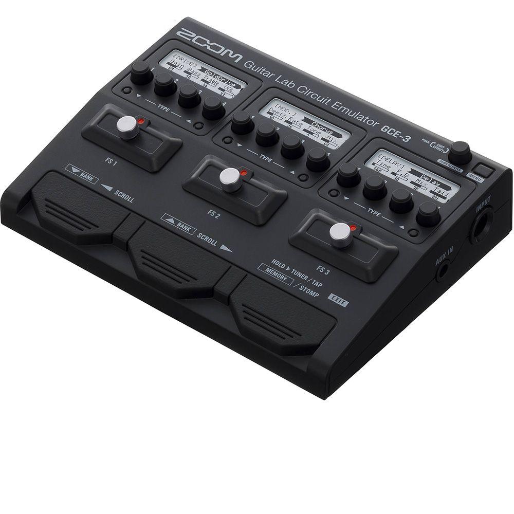 Interface de Áudio Zoom GCE-3 Guitar Lab Circuit Emulator