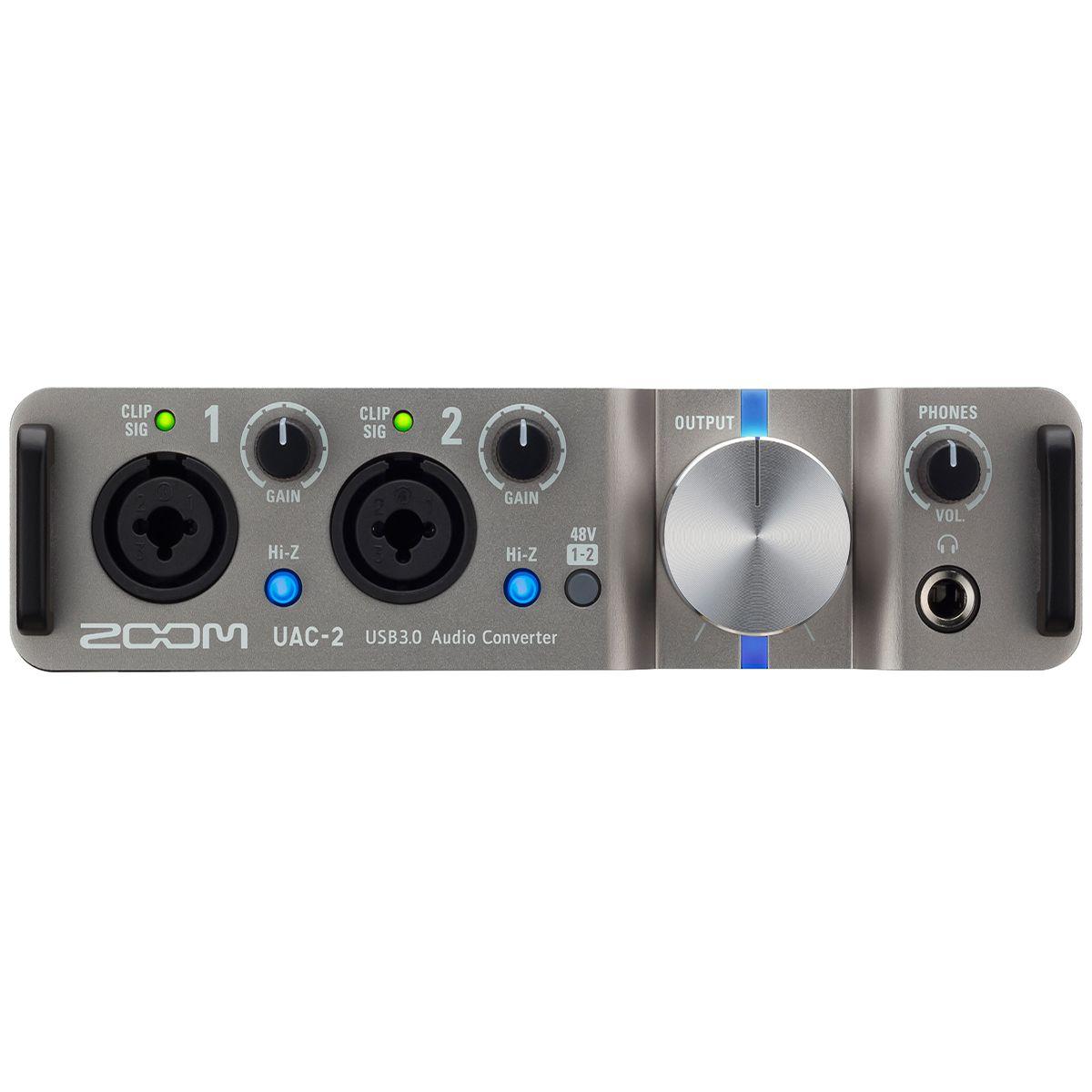 Interface de Áudio Zoom UAC-2 USB 3.0