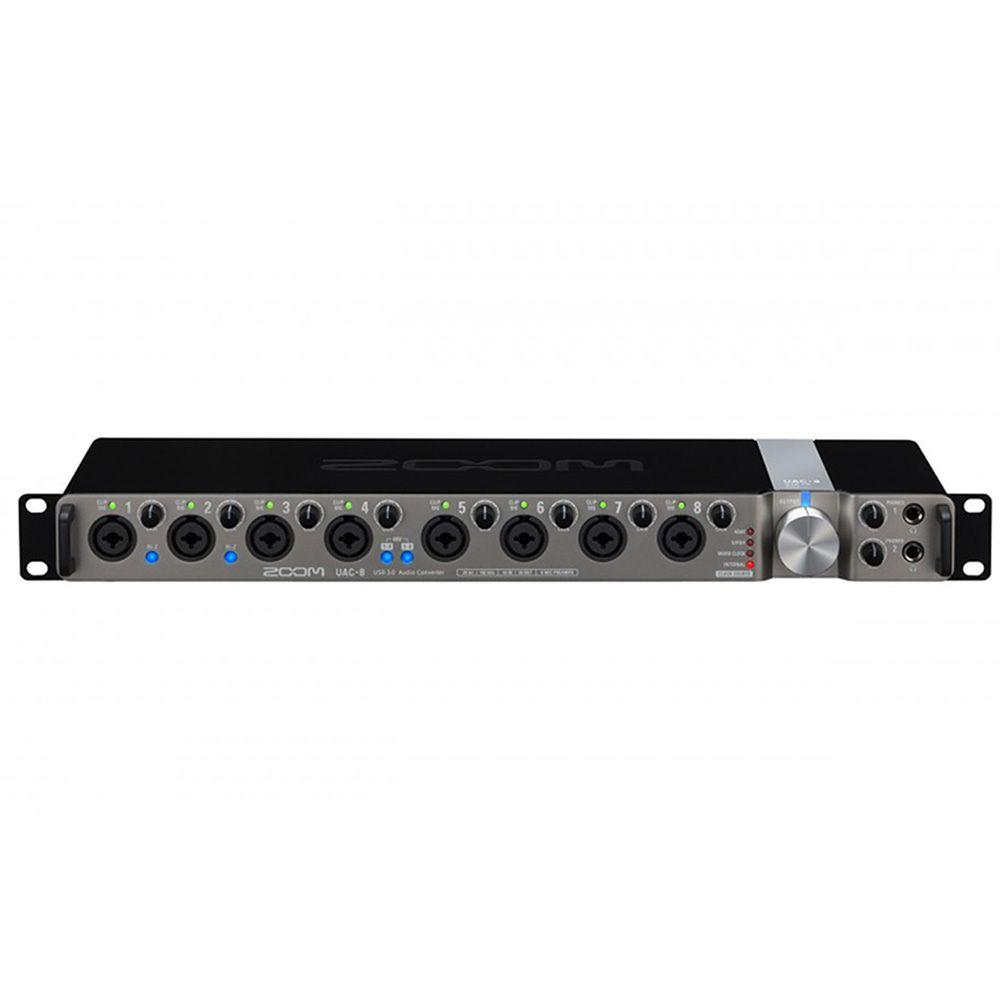 Interface de Áudio Zoom UAC-8 USB 3.0