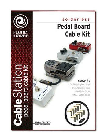 Kit D'addario Planet Waves PW-GPKIT-10 Cable Pedal 3.05m