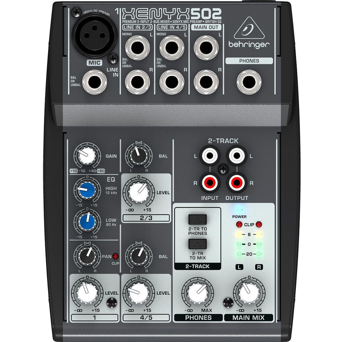 Kit de Áudio Interface Behringer PODCASTUDIO USB
