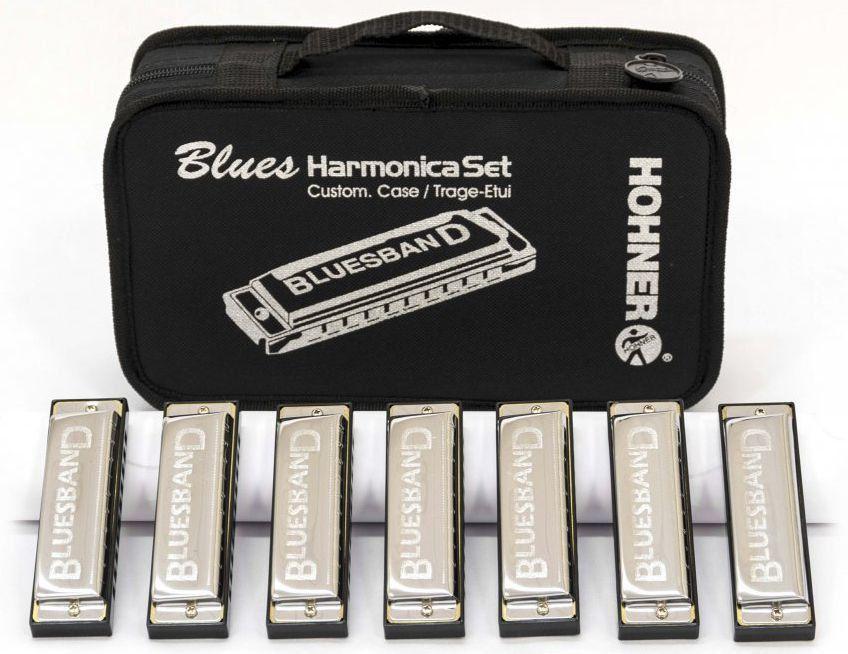Kit de Gaitas Hohner Blues Harmonica