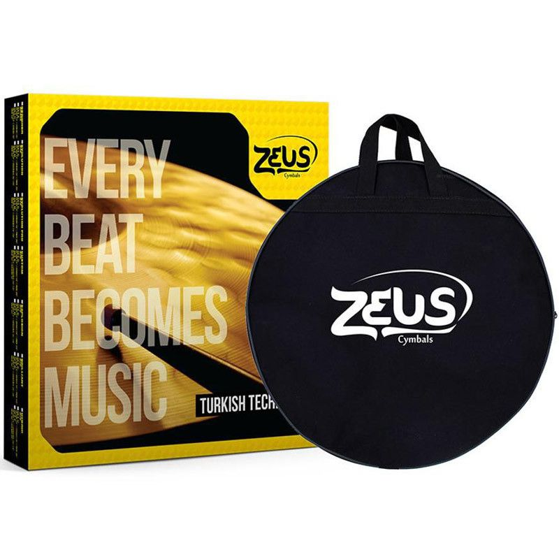 Kit de Pratos Zeus Cymbals SET E Custom Series 10