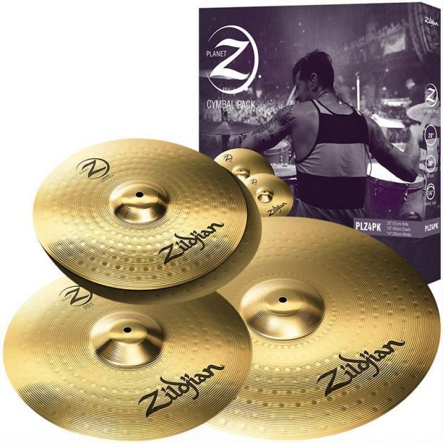 Kit de Pratos Zildjian PLZ4PK Planet Z 14
